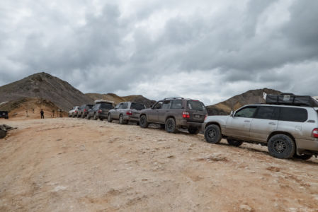 The group at Imogene Pass 13,114 feet