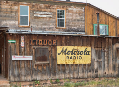 A blast from the past.  Bedrock General Store