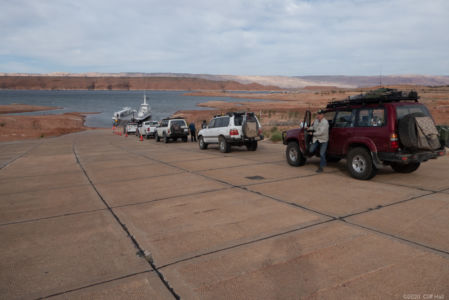 Hall's Crossing Ferry