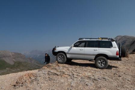 Duc at Black Bear Pass