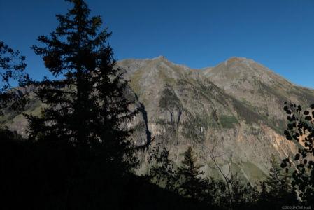 Bottom of Stony Pass Rd