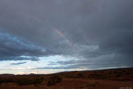 Rainbow near Torrey, Utah