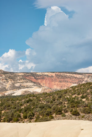 Clouds over Capitol Reef Nat Park