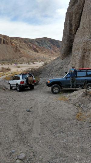Ben in Afton Canyon