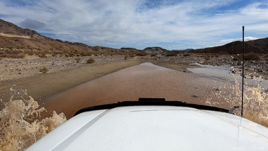 Crossing the Mojave River