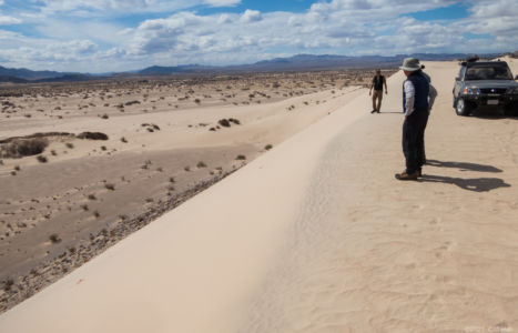 Duc and Don at the Sandboard Dunes
