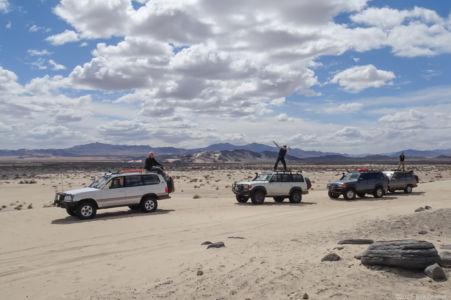 Cliff, Don & Duc at Sandboard Dune