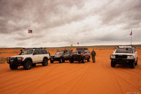 Duc, Don and Vince in the dunes