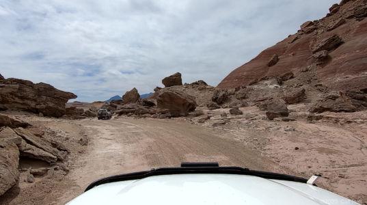 Don through the rocks
